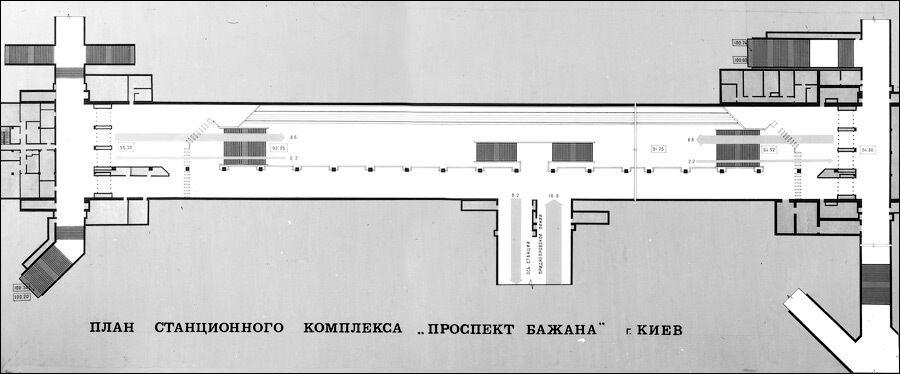 План станції з можливим розташуванням пересадки на швидкісний трамвай.