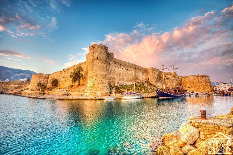Киренейський замок розповідає про історію Кіпру