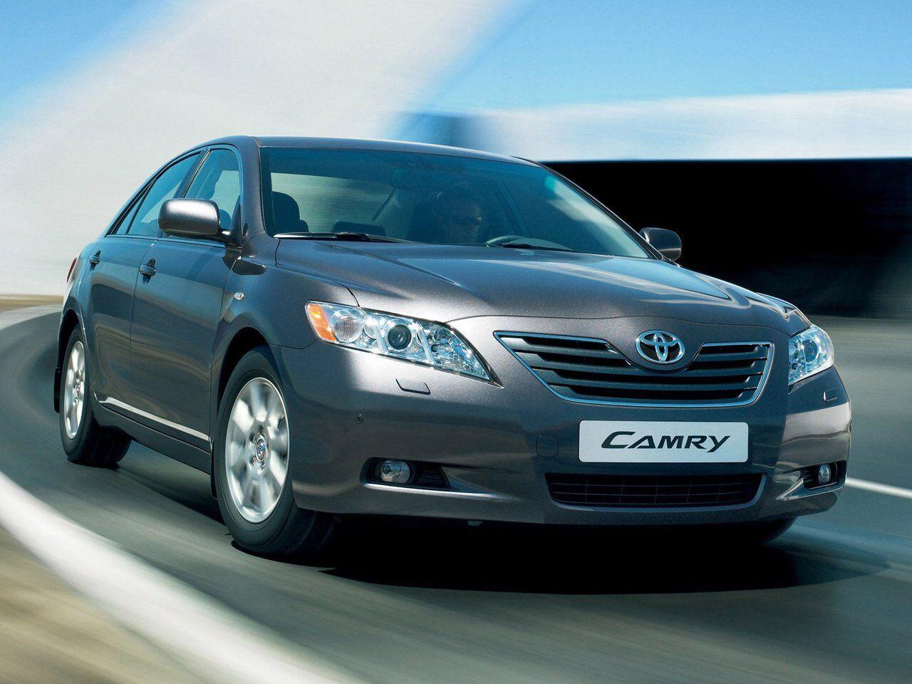 Toyota Camry – очень популярный автомобиль