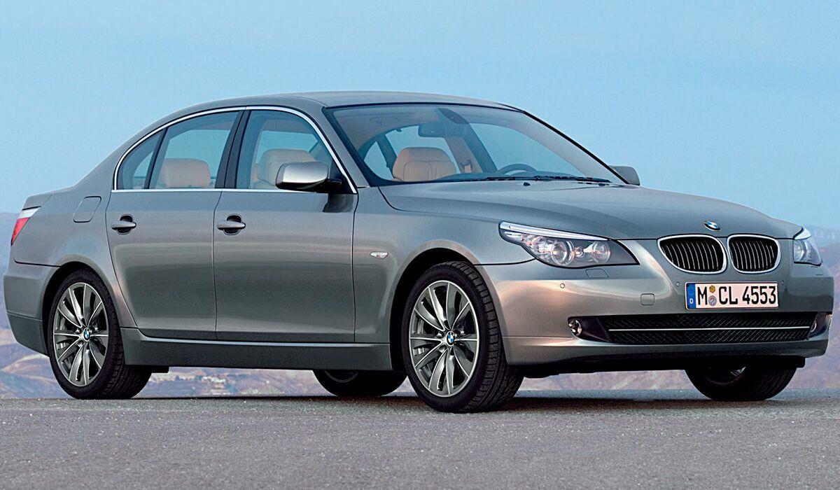 BMW E60 получилась удачной моделью