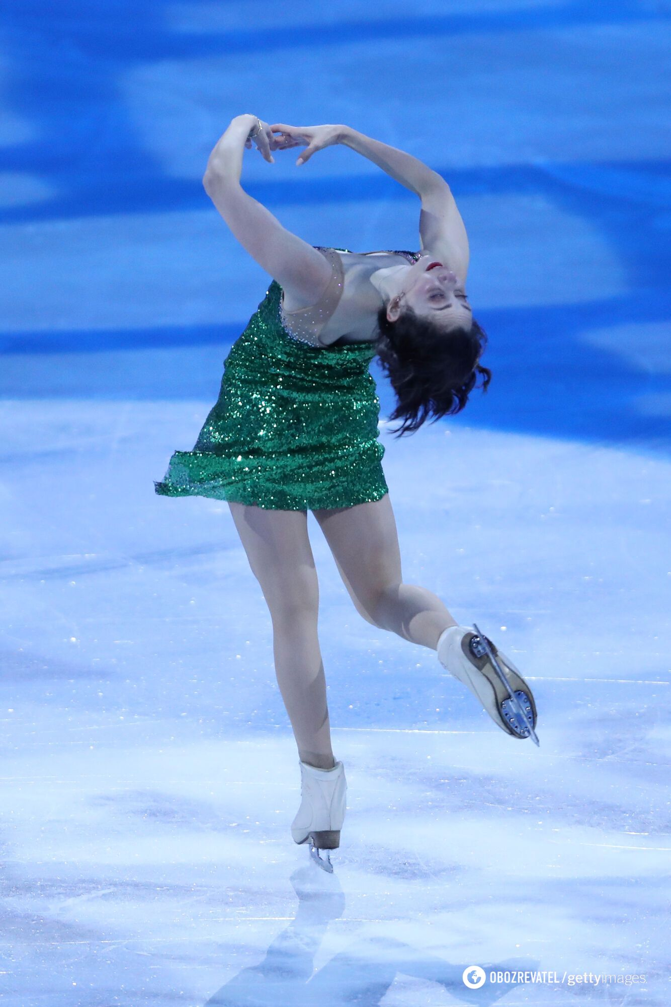 Елизавета Туктамышева во время турнира