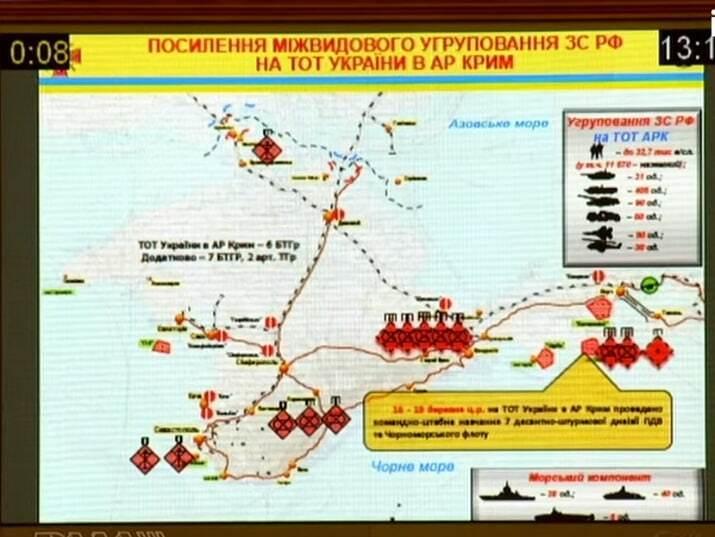 Хомчак: Росія стягнула до кордону України та в Крим додаткові війська