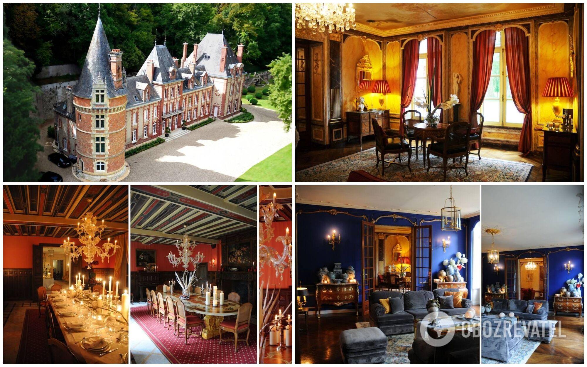 Пожить в замке XVIII века во Франции можно за $2 299 за ночь