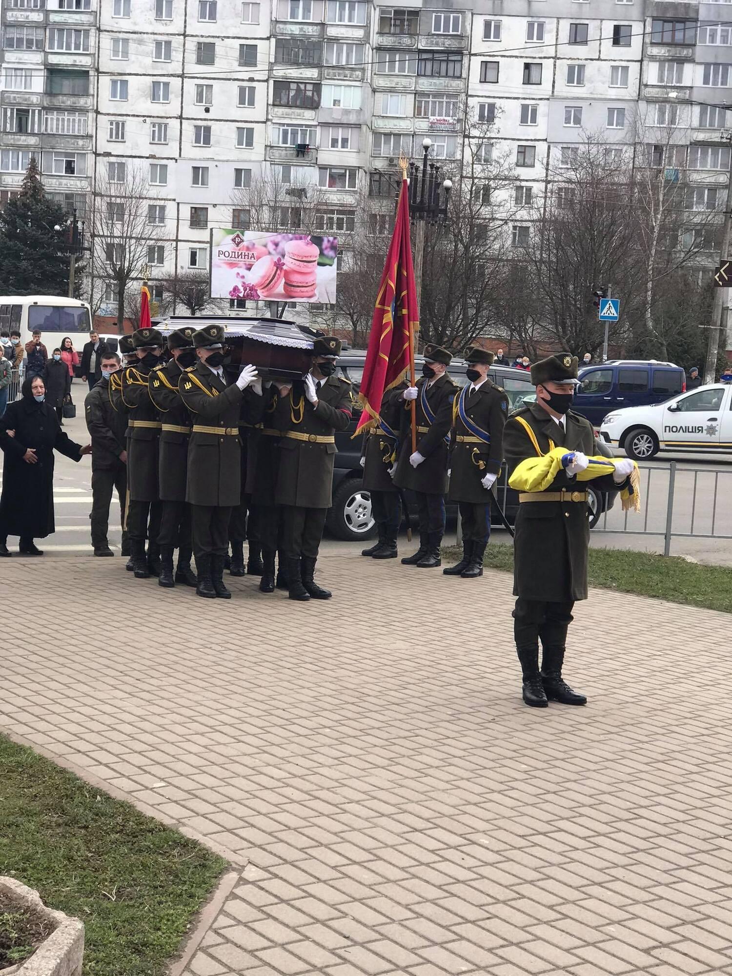 У центрі Калуша відбулося поминальне віче на честь Барнича