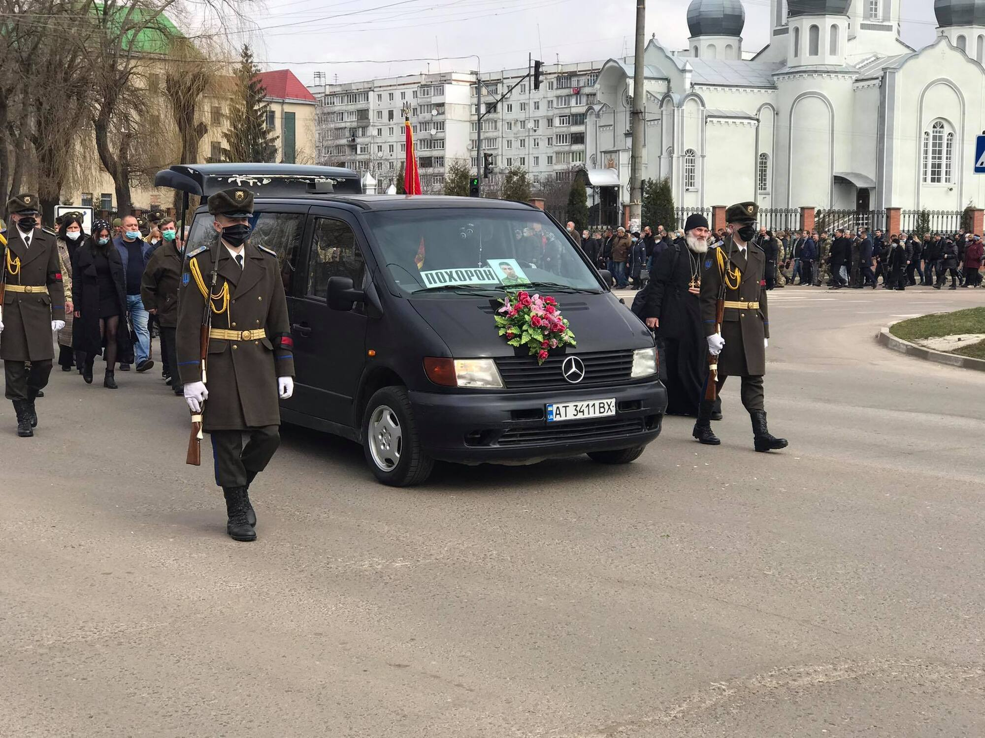 На похорон Барнича прийшли представники усіх церков