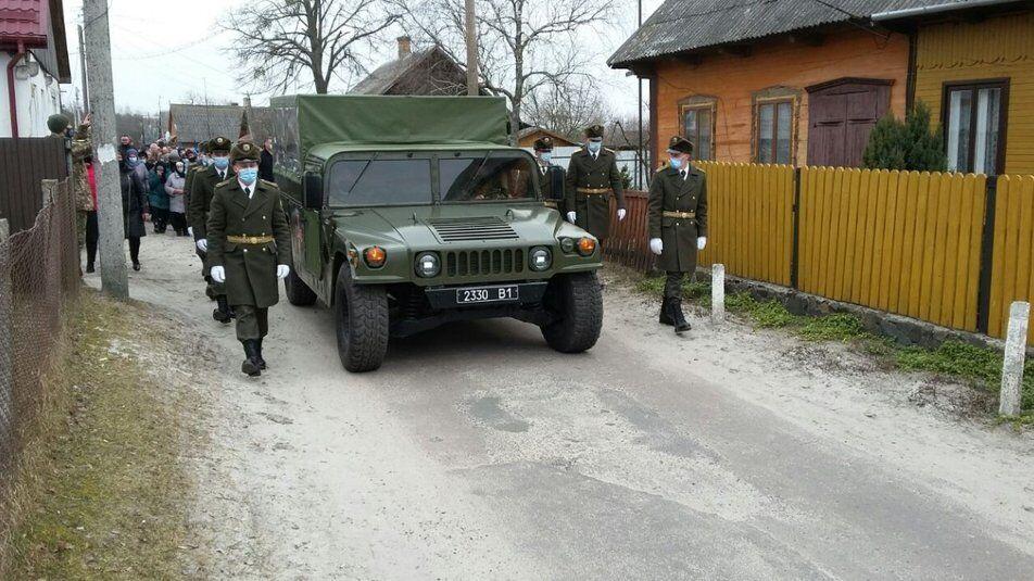 Максима Абрамовича похоронили з усіма військовими почестями