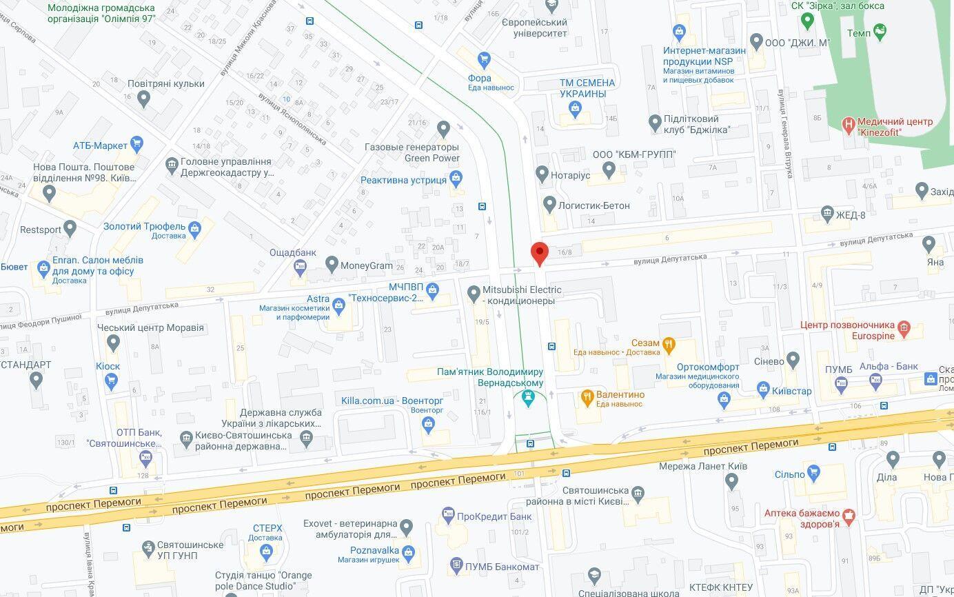 Подія сталась в Святошинському районі Києва.