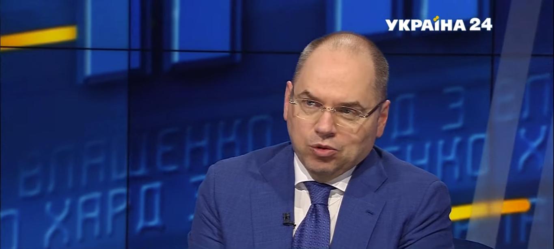 "Максим Степанов в ефірі ""Україна 24"""