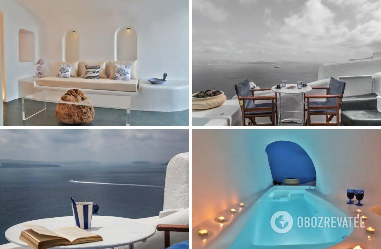 Дом в пещере в Греции сдается на Airbnb