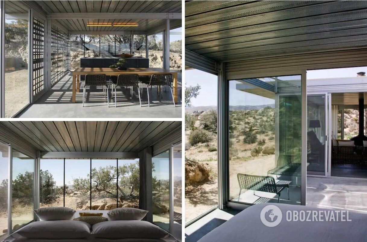 Будинок зі скляними стінами в Каліфорнії можна винайняти за $476 за ніч