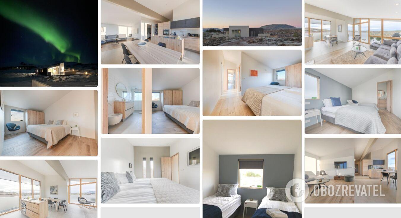 Цей будинок для відпустки розташований на Золотому кільці Ісландії