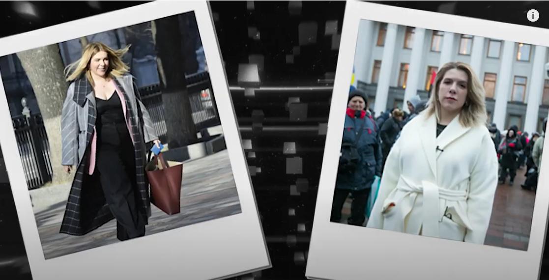 """Лідерка партії """"Голос"""" Кіра Рудик відома своєю колекцією різноманітних пальт"""