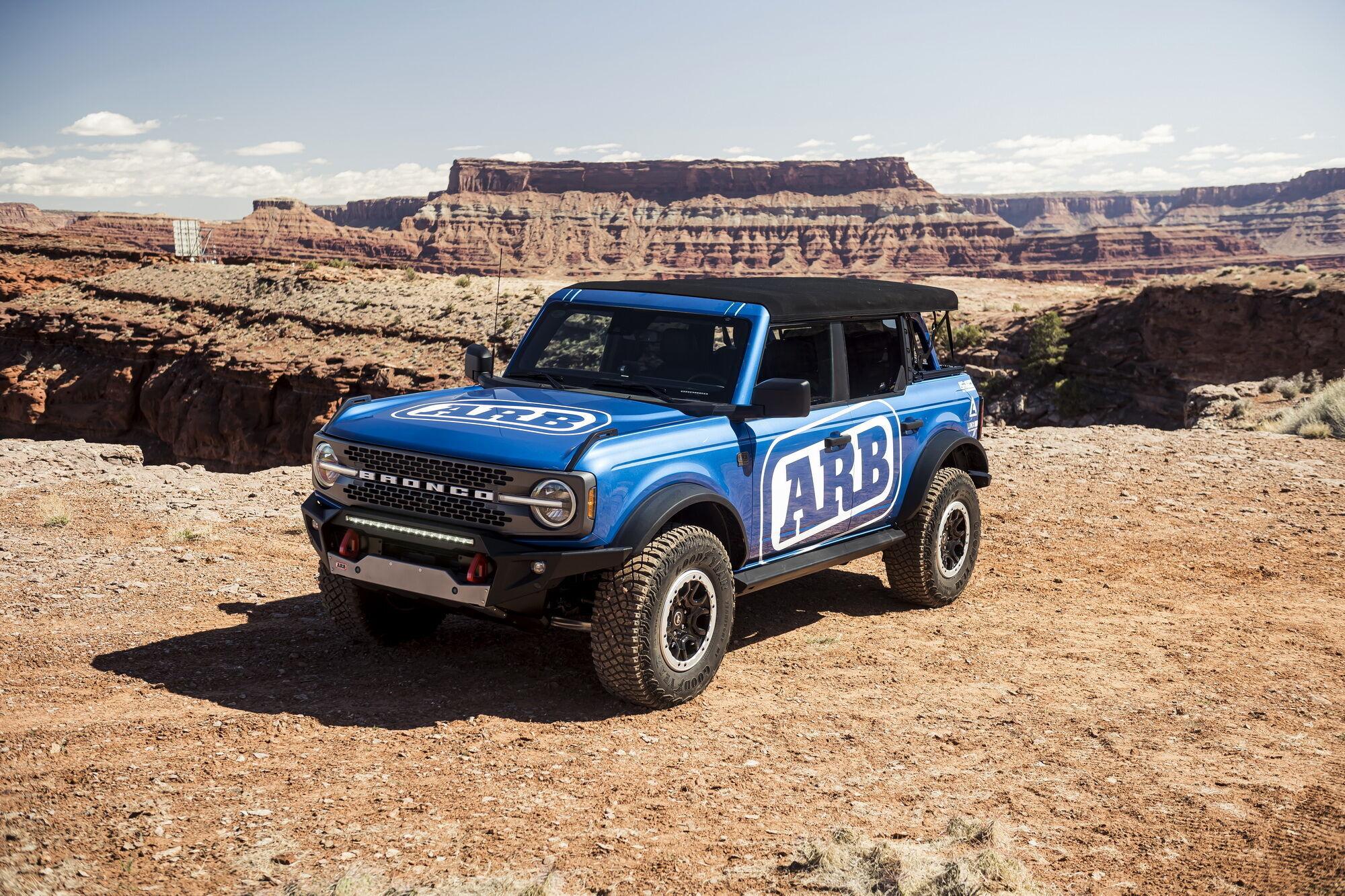 Для моделі Bronco у компанії ARB підготували цілий ряд аксесуарів