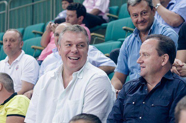 Олександр Волков на матчі