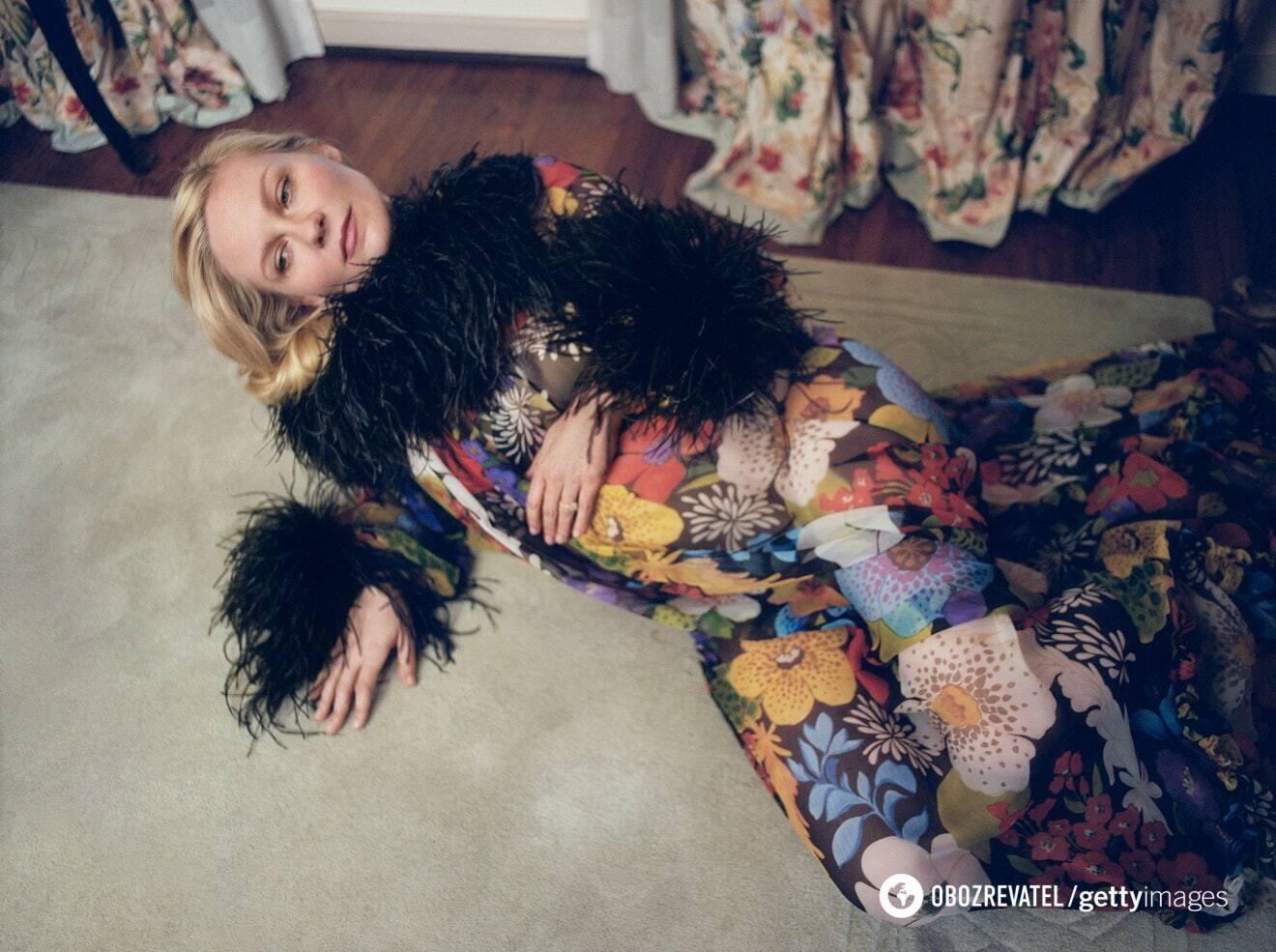 Кірстен Данст в фотосесії для W Magazine