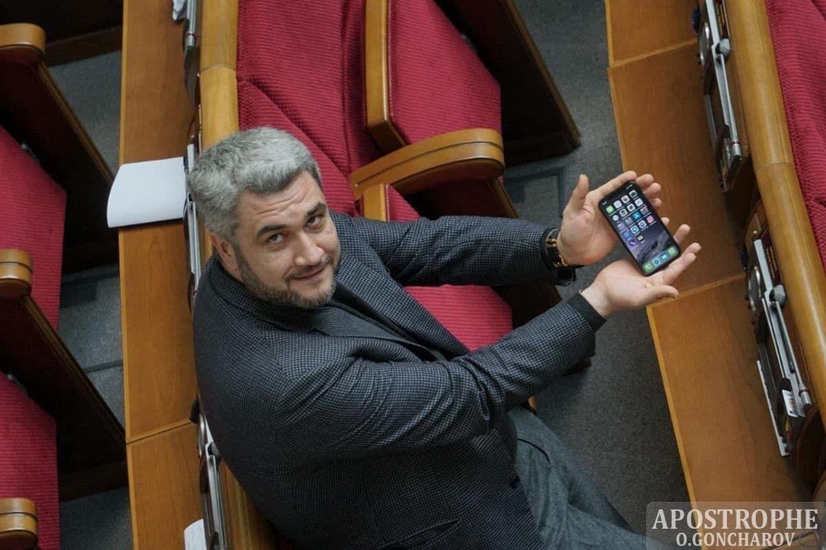 Анатолій Урбанський прийшов у Раду в дорогих годинниках.
