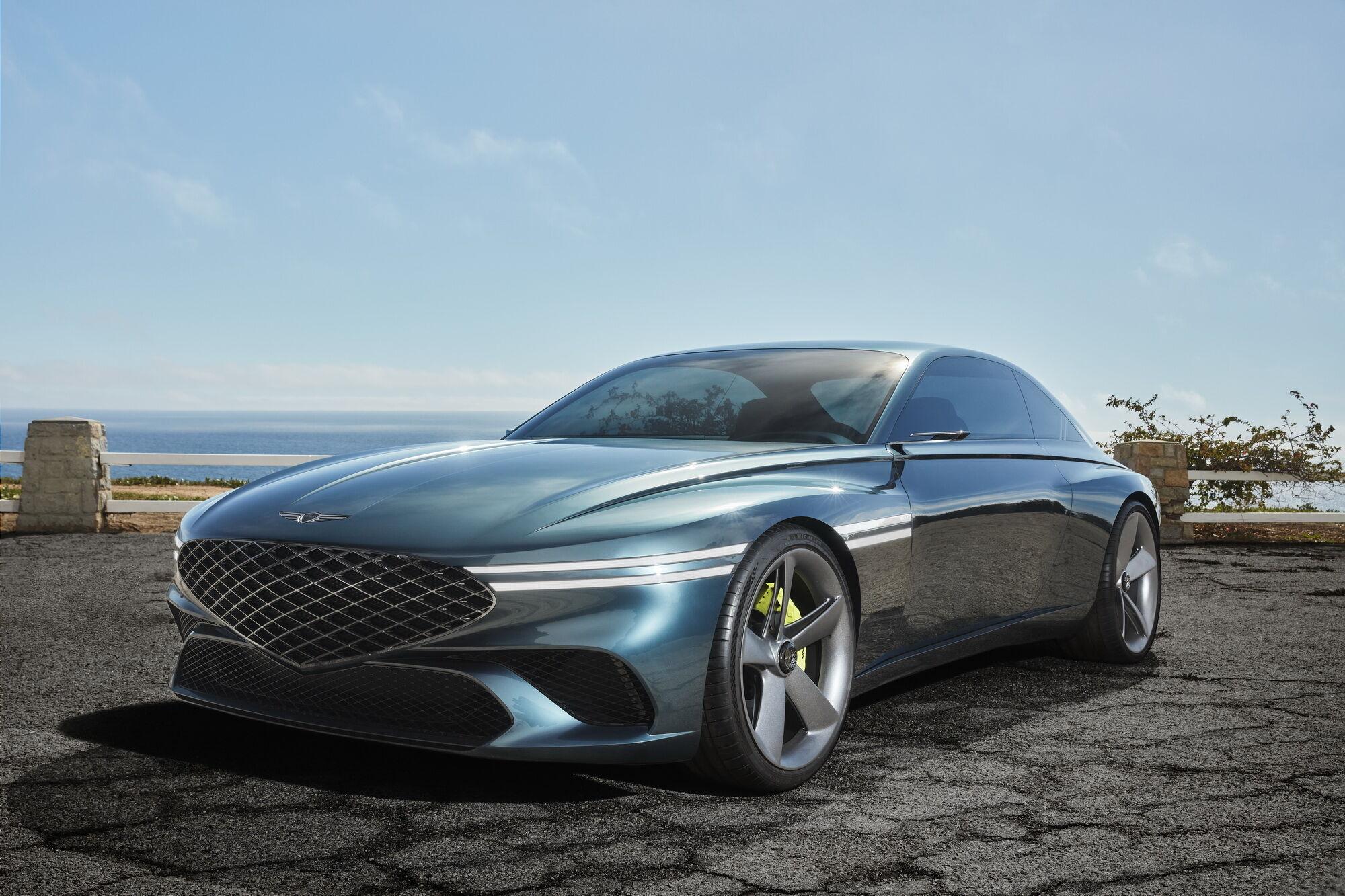 Електричний купе категорії GT демонструє напрям розвитку дизайну марки у найближчі роки