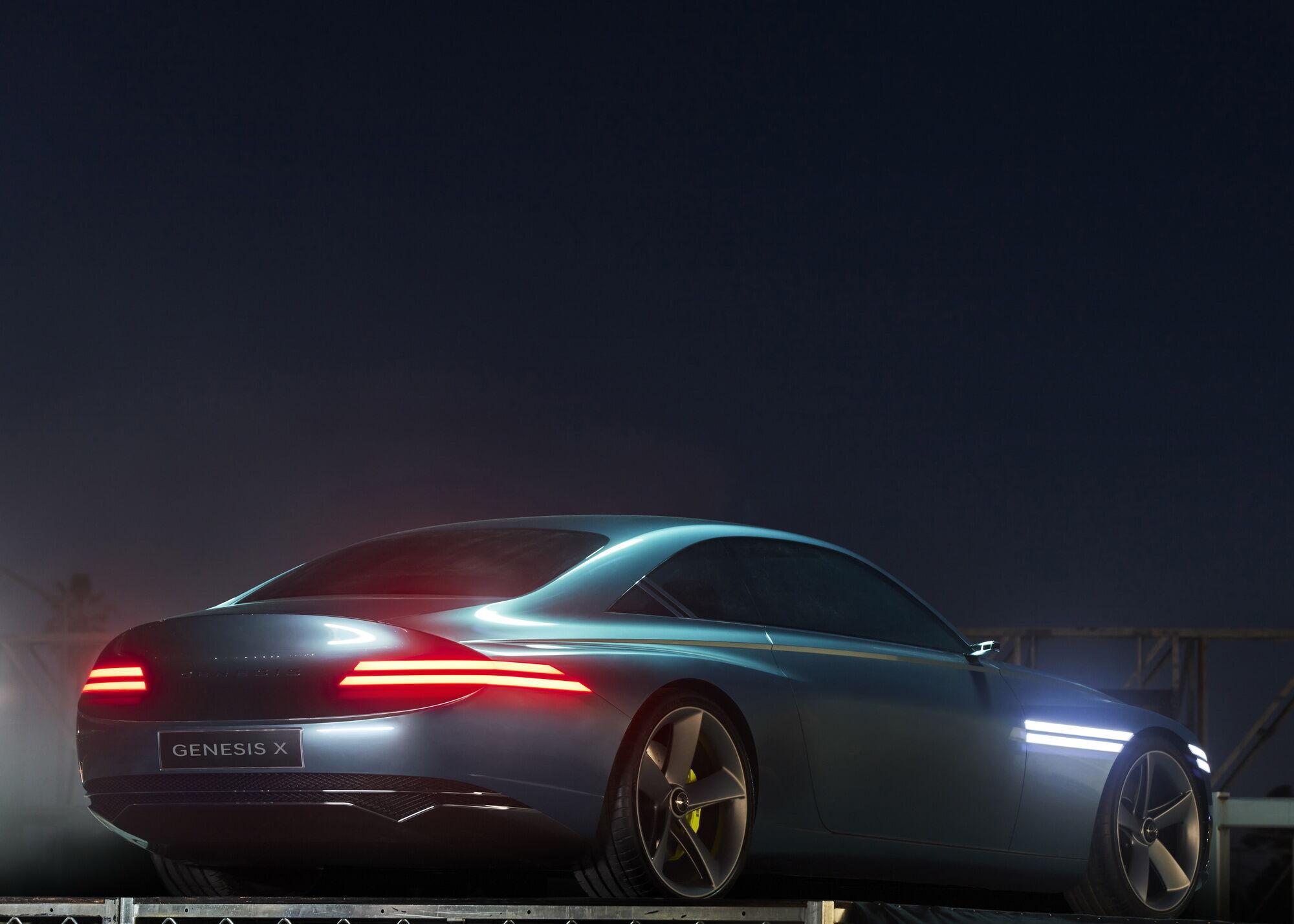 Genesis X має ретельно пророблений з точки зору аеродинаміки кузов