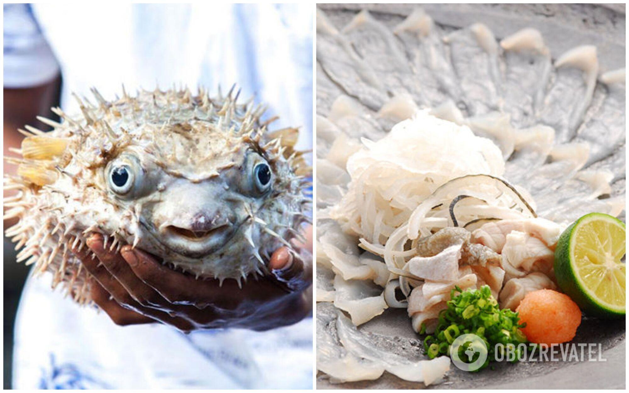 Поряд із тим, як з'їдається риба фугу, у людини відмовляють кінцівки та щелепи