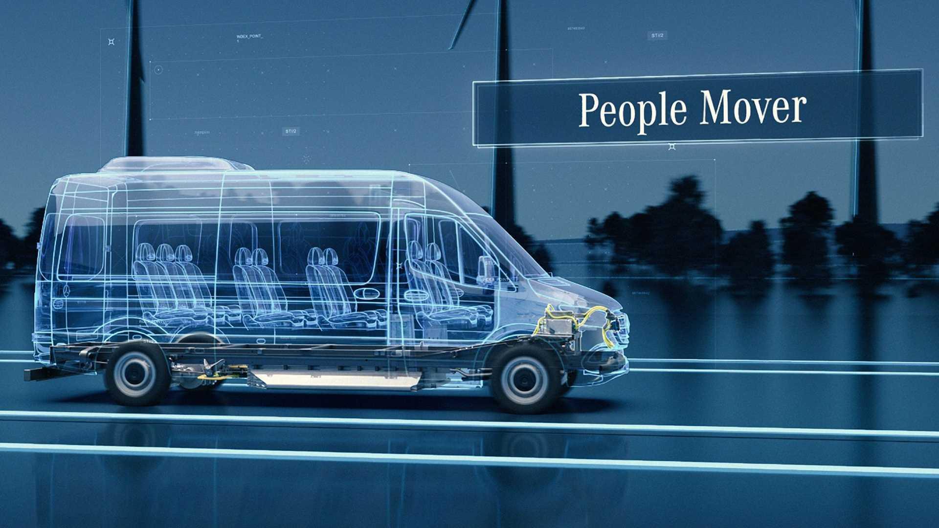 Mercedes eSprinter побудують на новій платформі