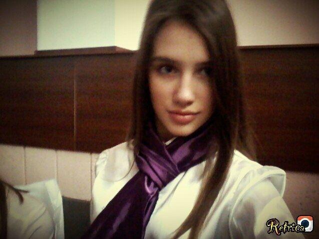 Даша під час навчання в школі