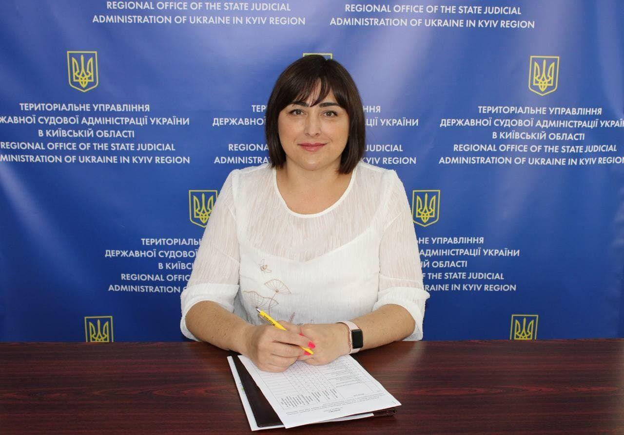 Світлана Шевченко – начальниця Територіального управління ДСА в Київській області.