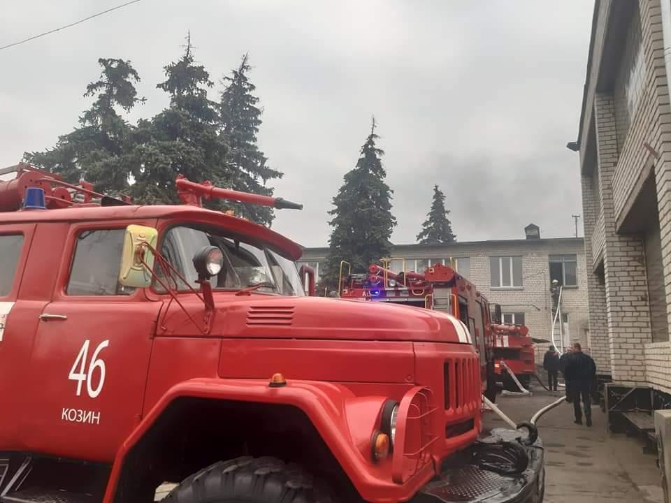З дитячого садка евакуювали 150 осіб.