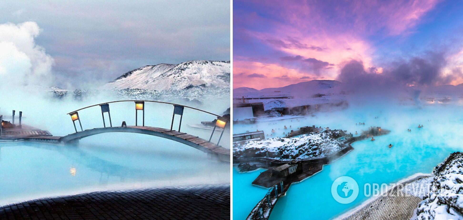 Блакитна лагуна в Ісландії має цілющі властивості