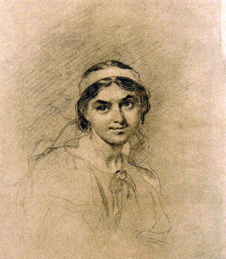 Тарас Шевченко збирався одружитися з Ликерією Полусмаковою. Цей портрет він намалював 1860 року