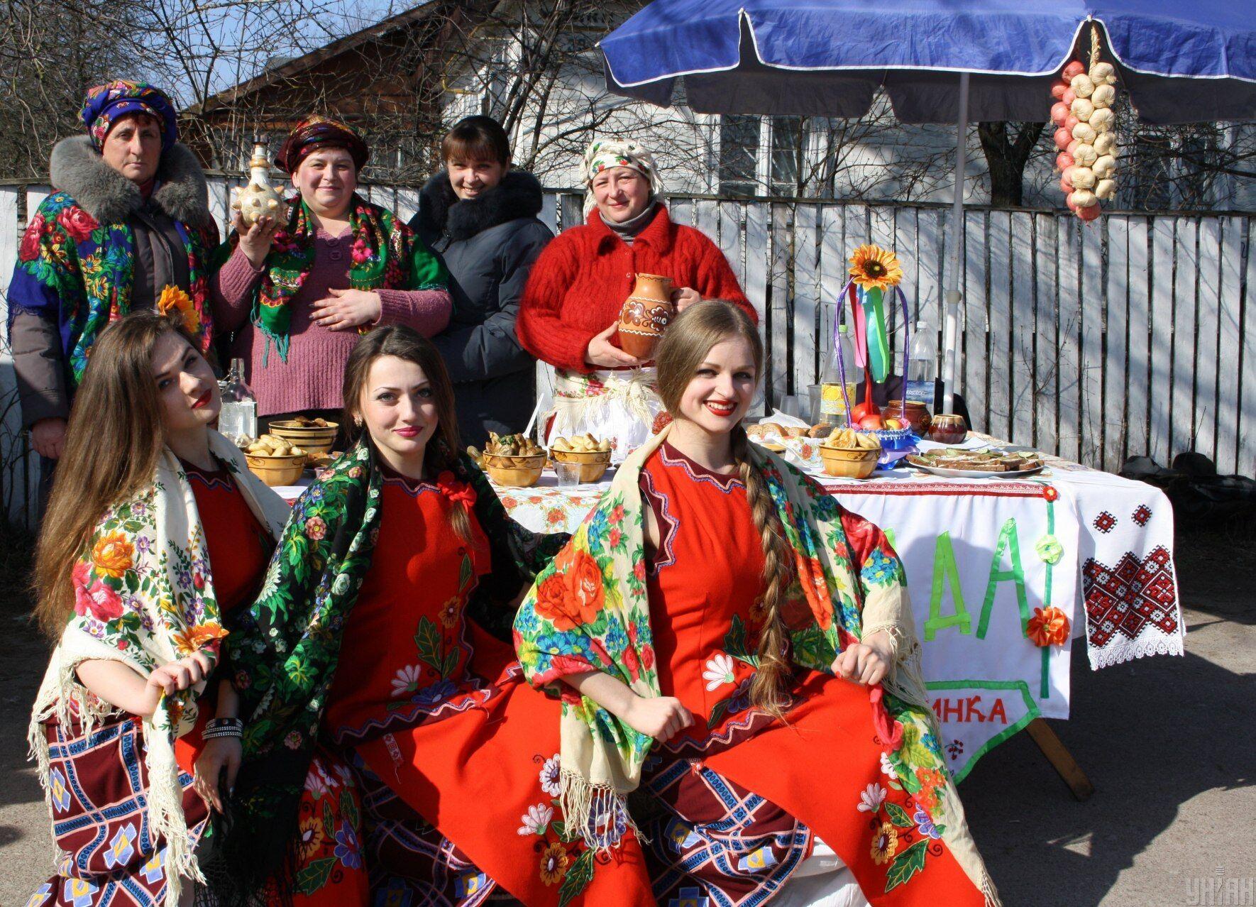 Масленица в Украине отмечалась еще в дохристианские времена