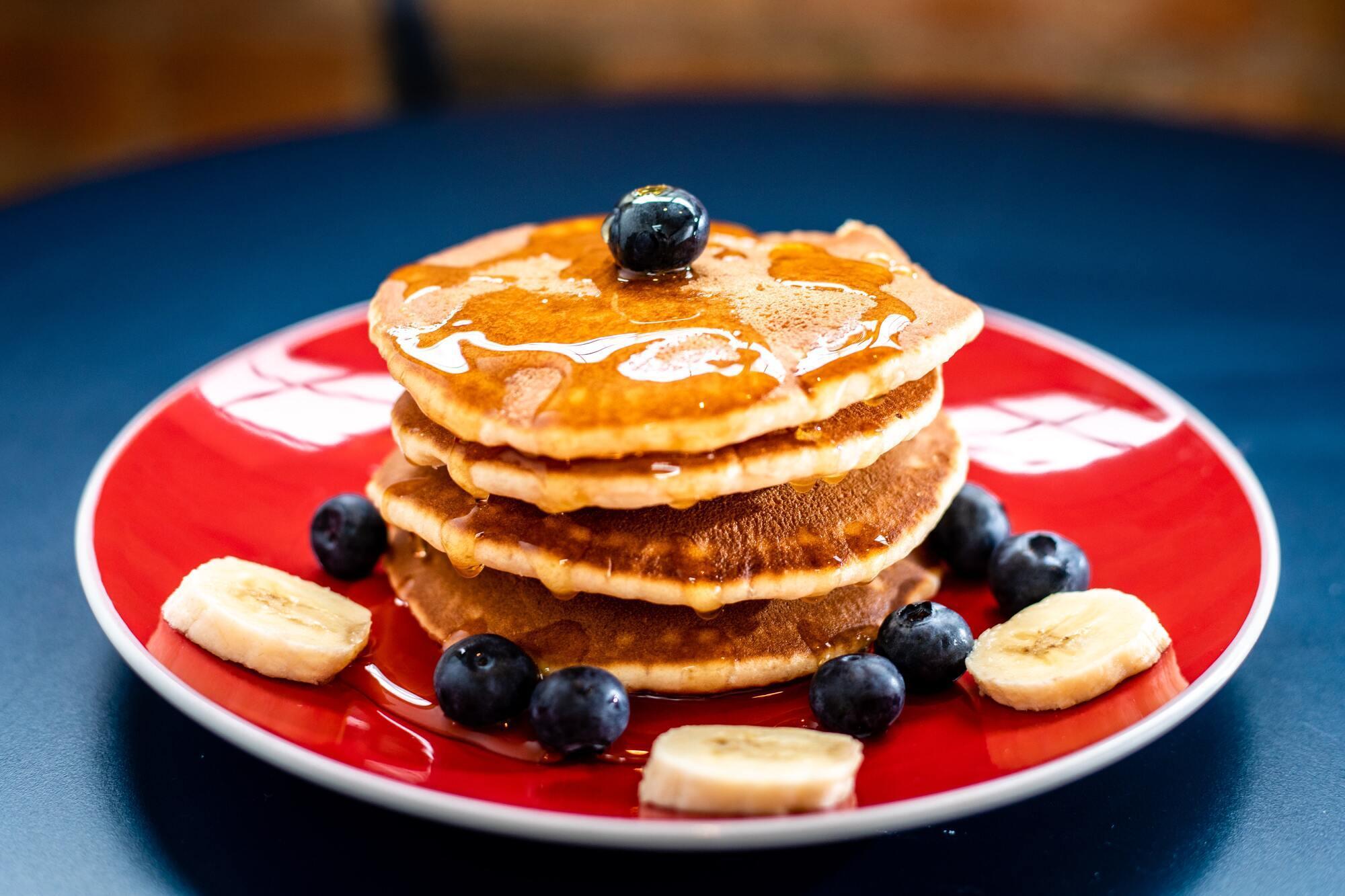 Блины на завтрак можно приготовить без муки.