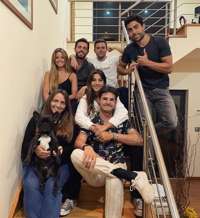 Інес Томаз, Бернарду Сілва та їхні друзі