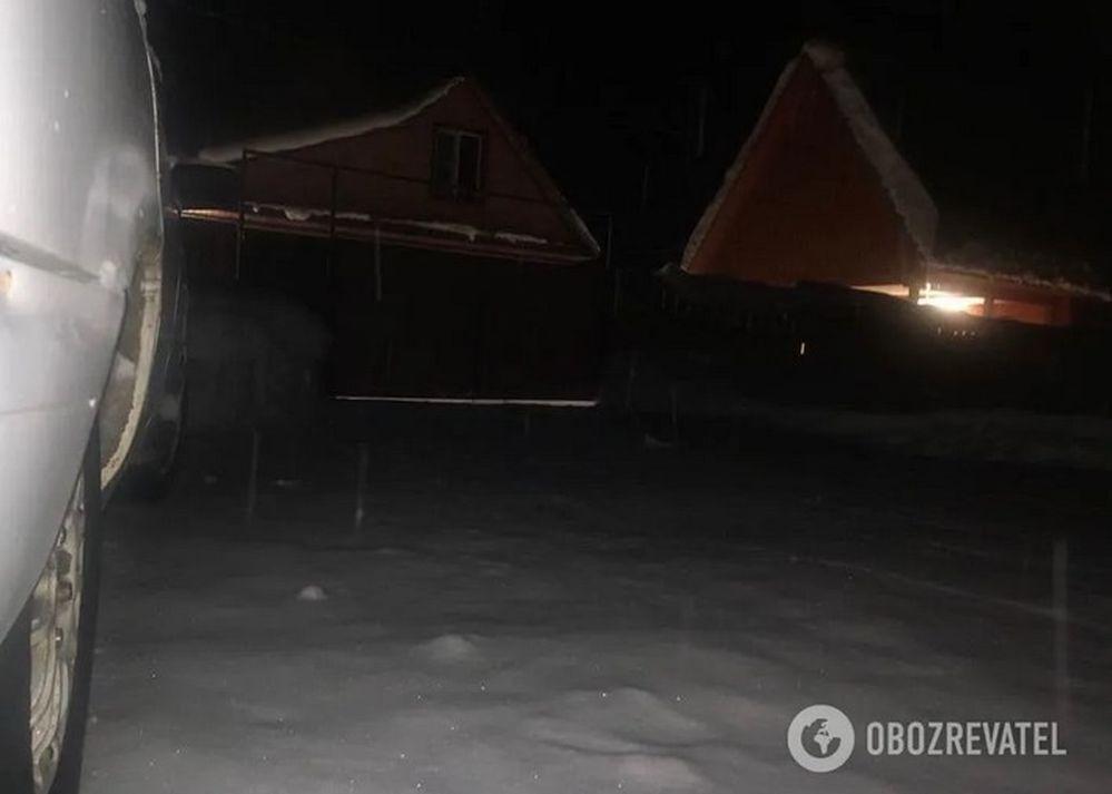 """Дом """"Ленина"""" на Алтае. Фото сделано украинскими разведчиками во время операции по установке аппаратуры"""