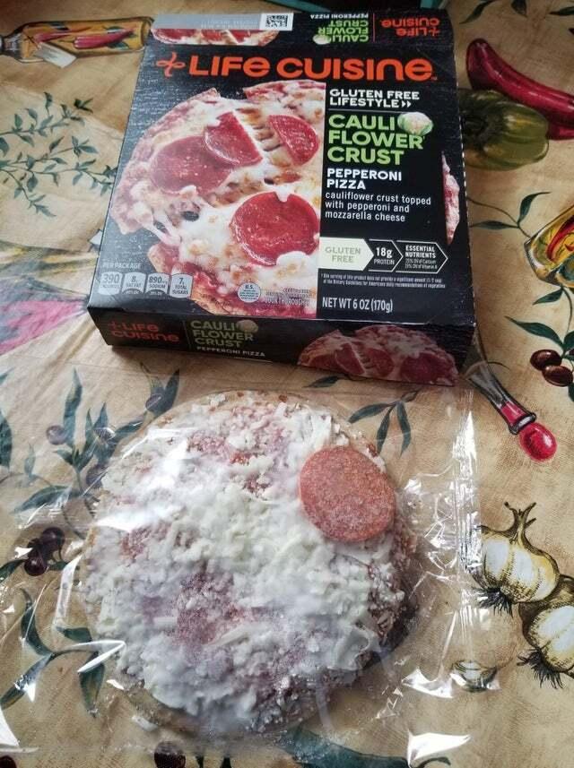 Ожидания и реальность: без колбасы меньше калорий.