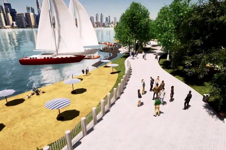 Киевлянам обещают новый парк возле залива Берковщина