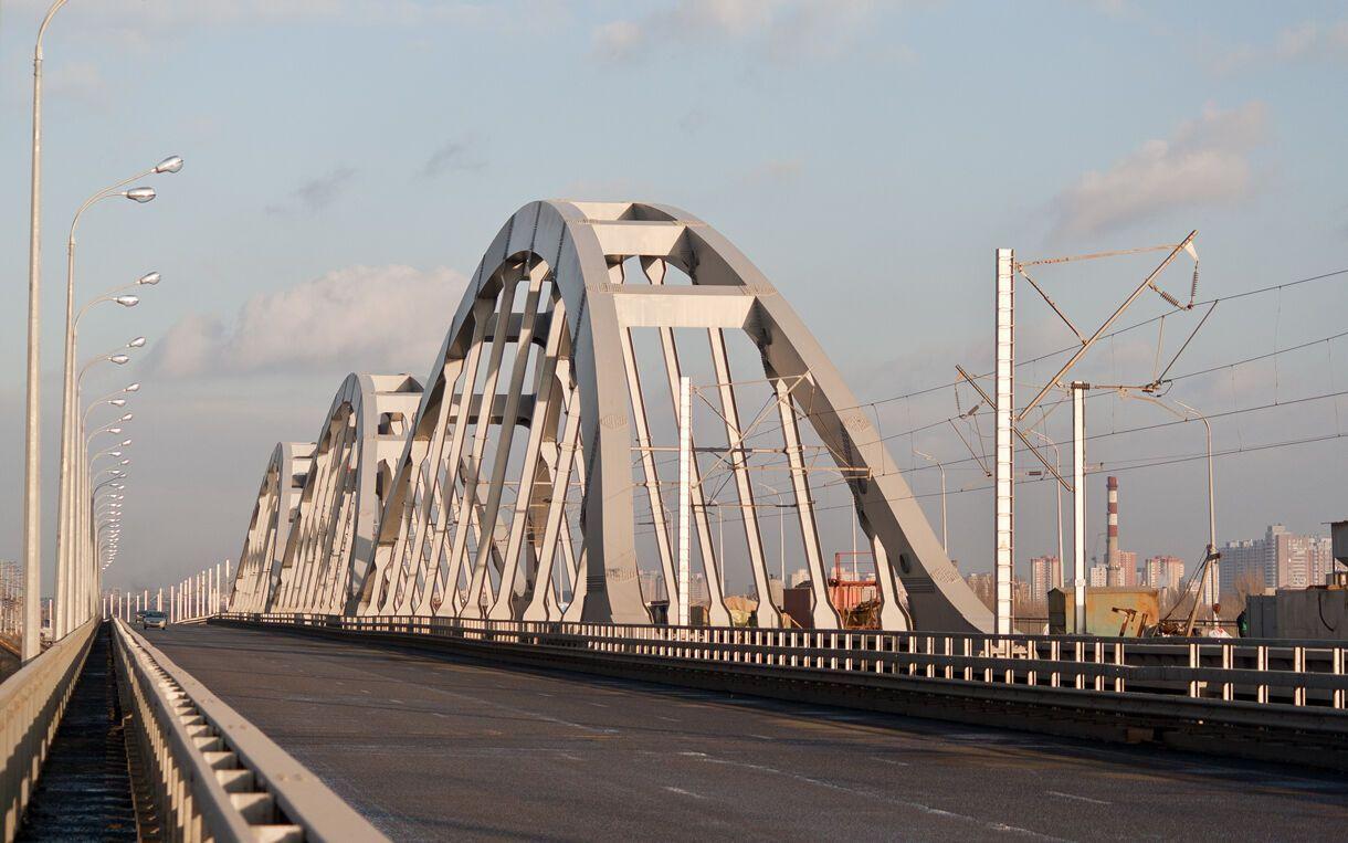Дарницкий мост обещают сдать к коцу 2021 года