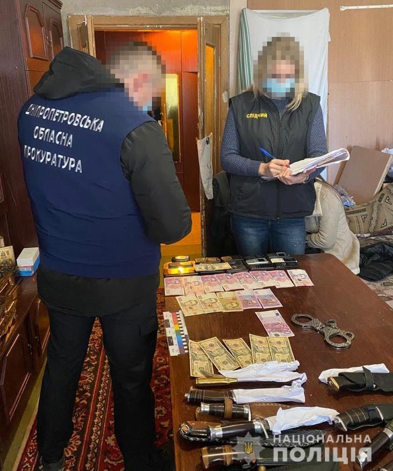 Поліцейські провели санкціоновані обшуки