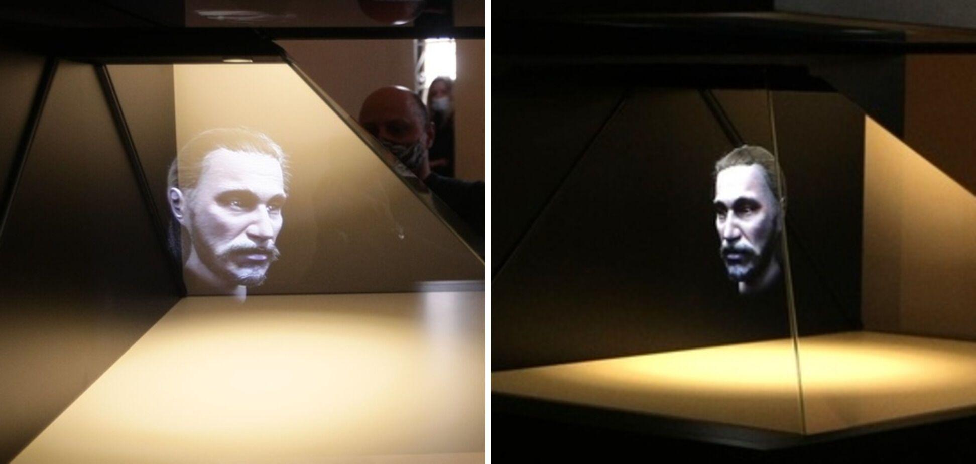 3D-голограмма истинного лица Ярослава Мудрого