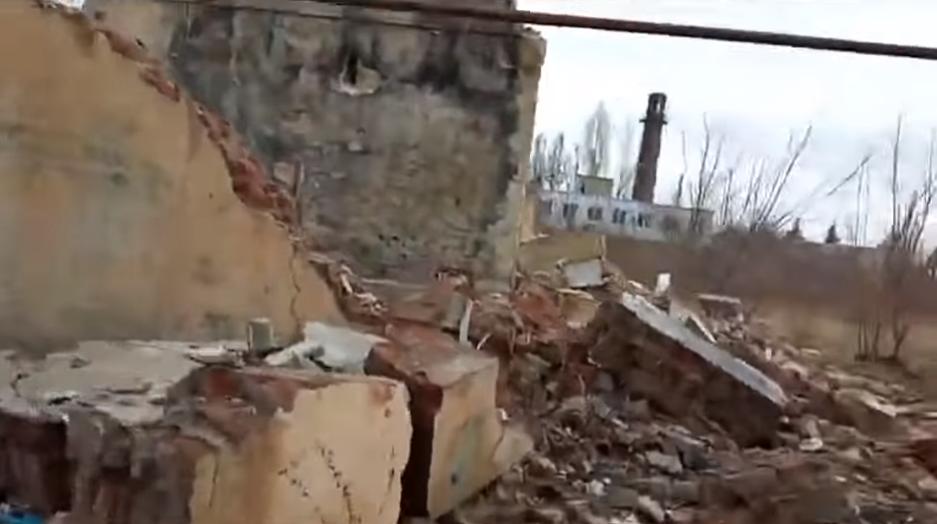 """Руины в """"ДНР"""""""