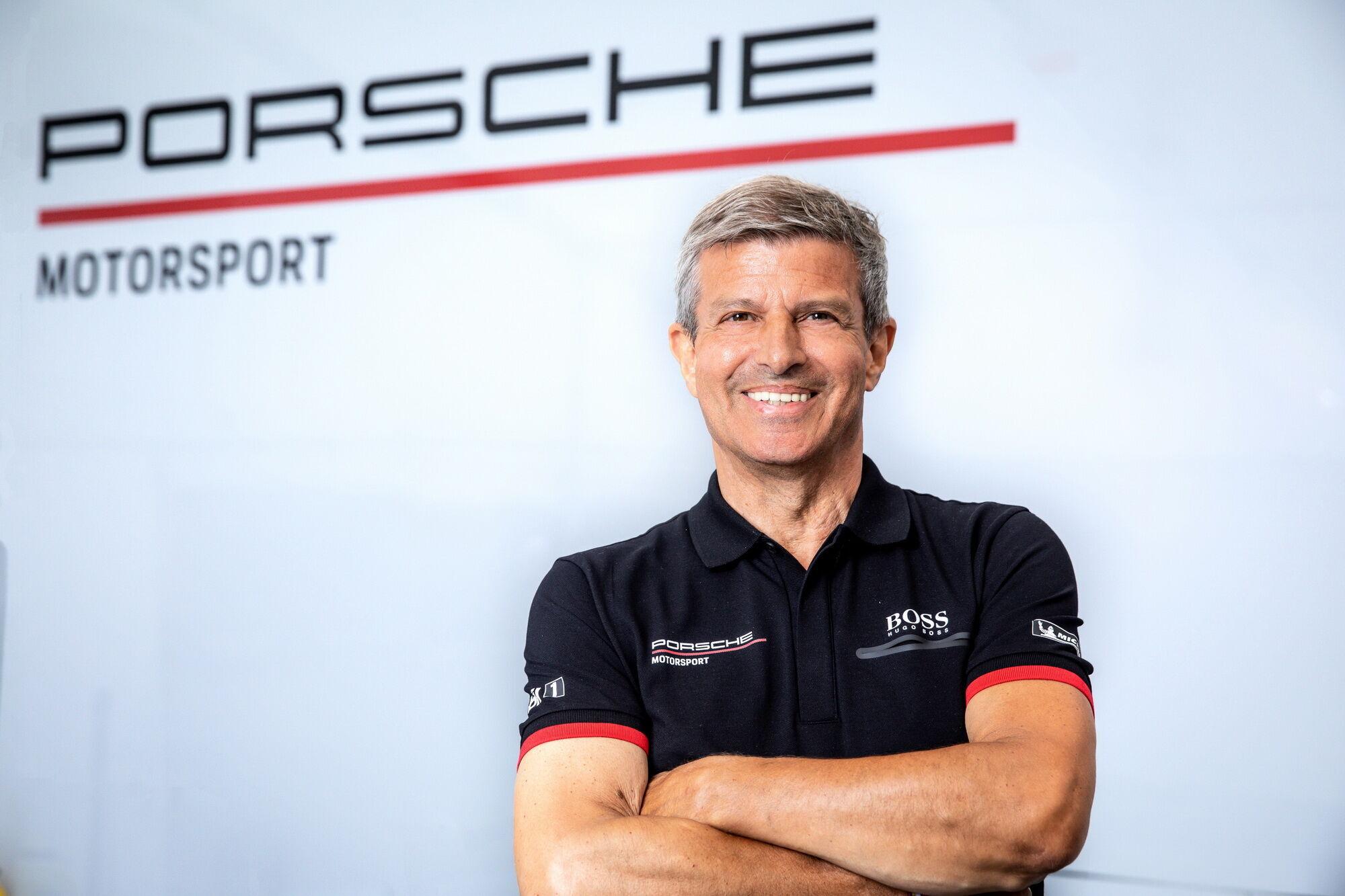 Віцепрезидент Porsche Motorsport Фріц Енцінгер.