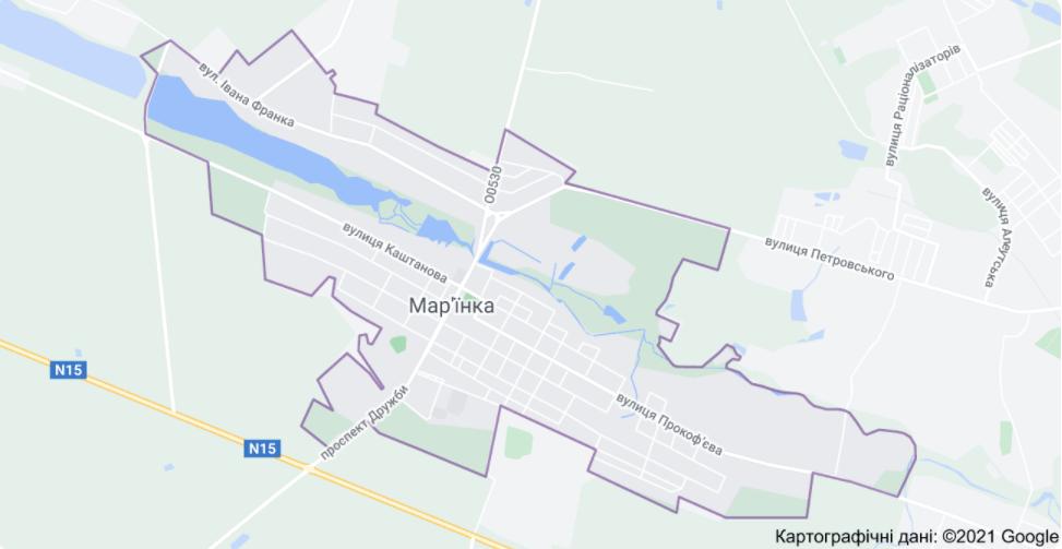Під Мар'їнкою поранили українського воїна