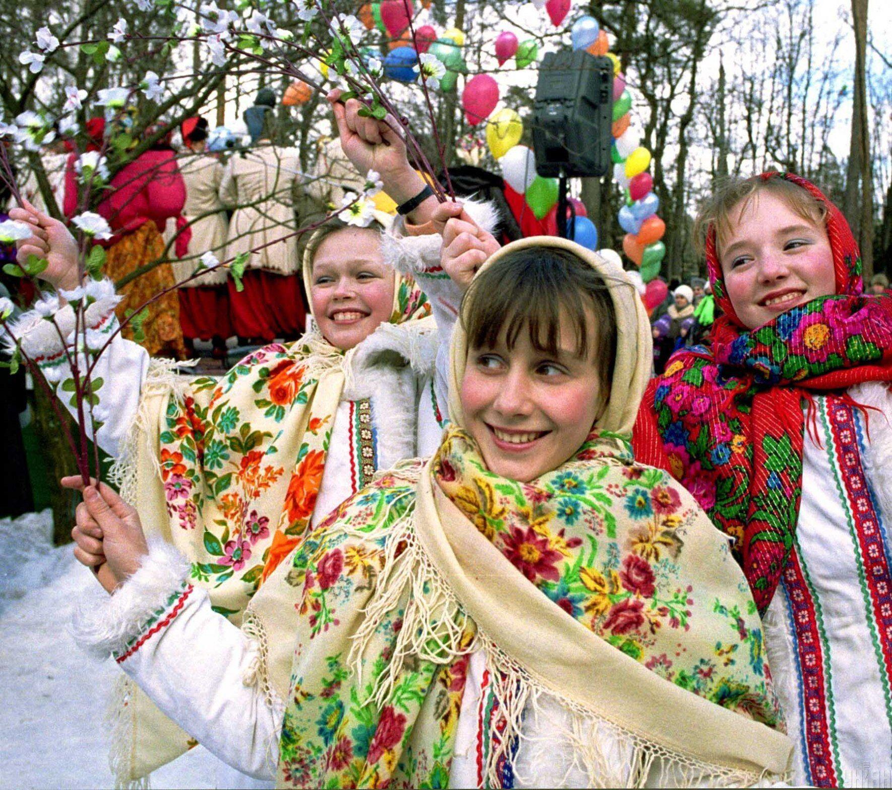 """На украинских территориях издавна использовалось название """"Масниця"""""""
