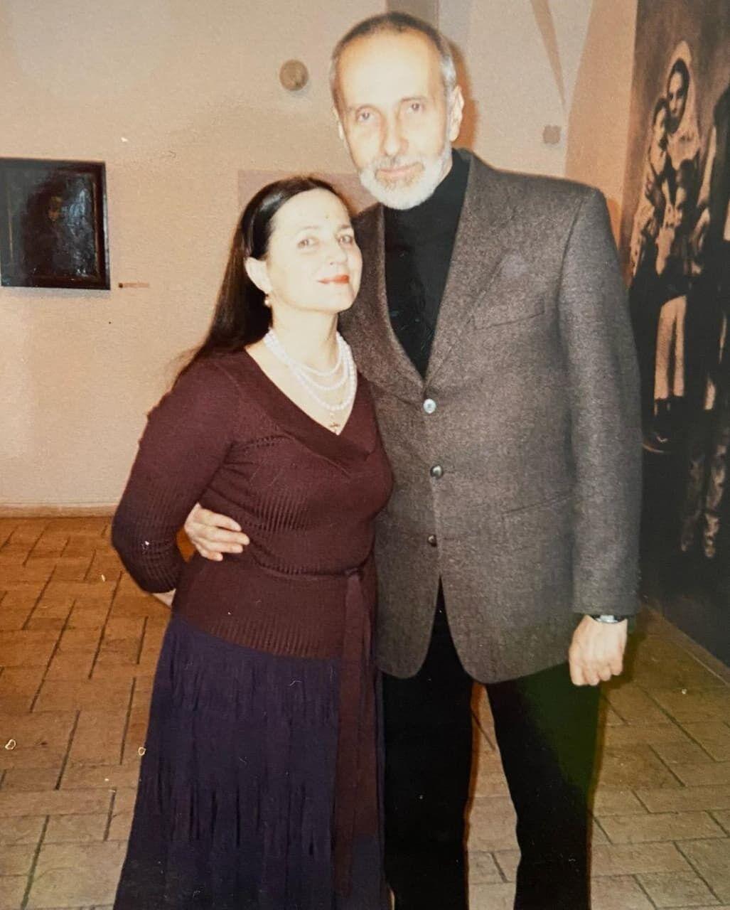 Нина Матвиенко с мужем