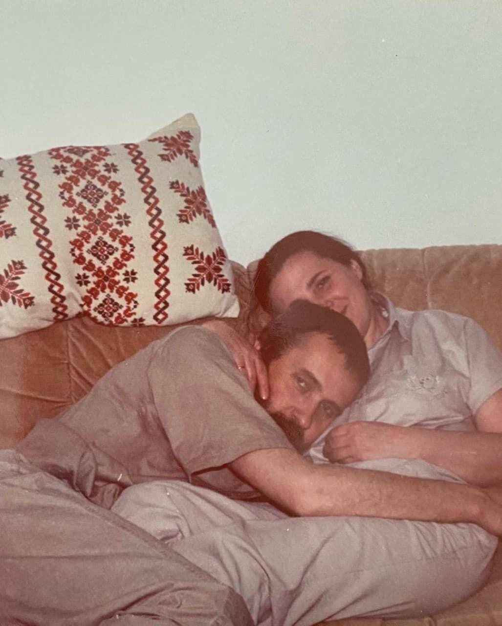 Нина Матвиенко с мужем Петром