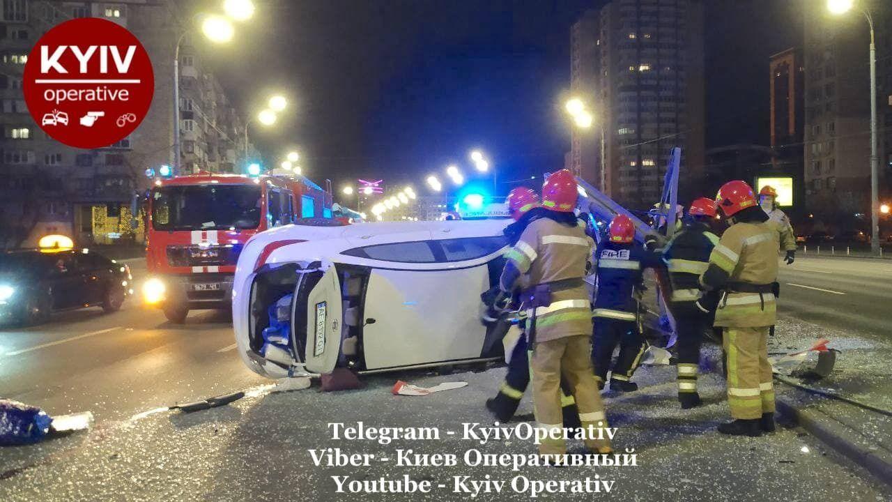 ДТП в центре Киева.