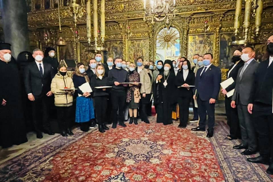 Народні депутати України відвідали Вселенського патріарха в Стамбулі