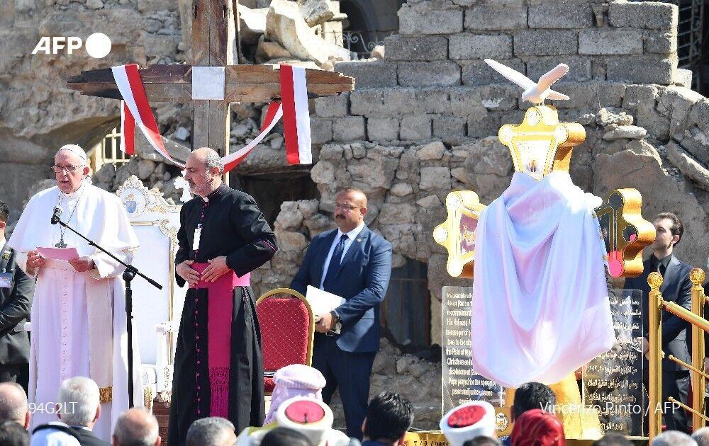 Папа Франциск відвідав Мосул