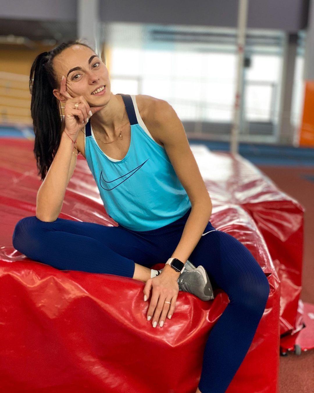 Ірина Геращенко на тренуванні