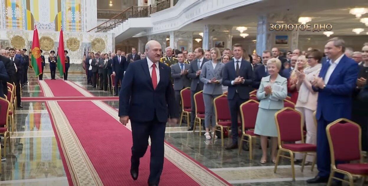 Лукашенко в Палаці незалежності.