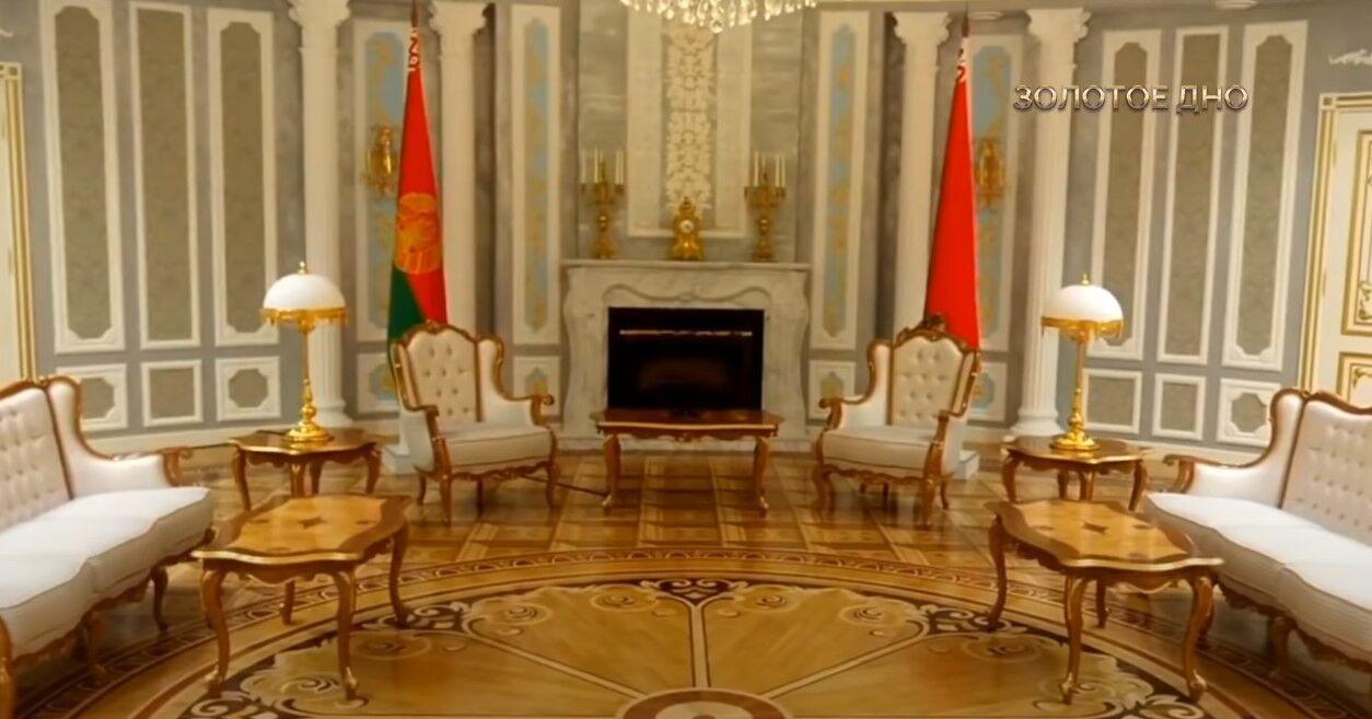 Одне з приміщень в Палаці незалежності.